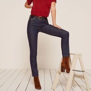 NWT Reformation Winona Mid Slim Jean